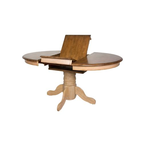 Round or Oval Butterfly Leaf Dining Set w/Server (8 piece)