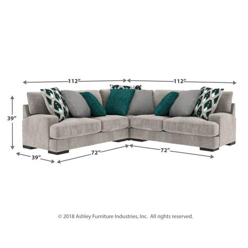Bardarson 3-piece Sectional