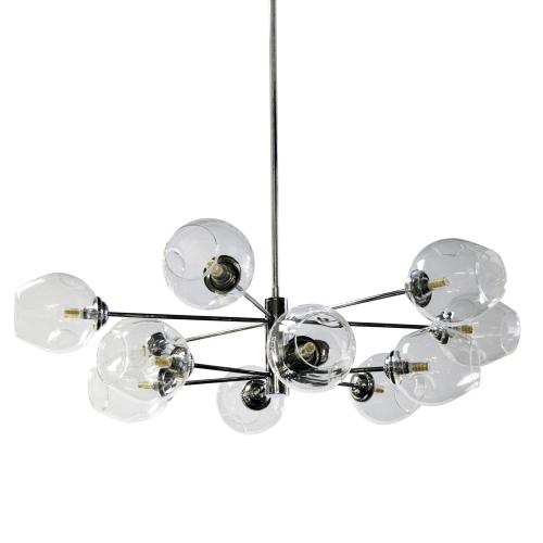12lt Halogen Pendant, PC With Clear Glass