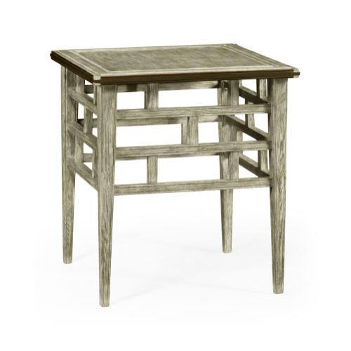 Marshfield Grey Oak End Table