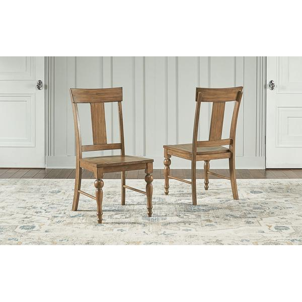 See Details - T-BACK CHAIR