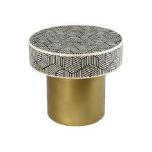 View Product - Bone Inlay Round Side Table