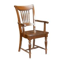 See Details - Model 21 Arm Chair Wood Seat