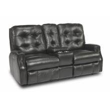 See Details - Devon Power Reclining Loveseat with Console and Power Headrests