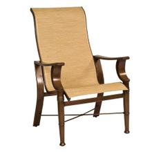 See Details - Arkadia Sling High-Back Dining Armchair