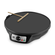 Kalorik 3-in-1 Griddle, Crepe and Pancake Maker, Black