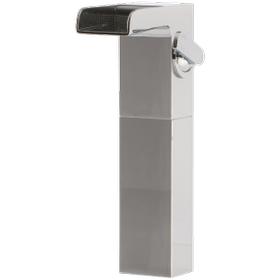 Kascade Vessel Lav Faucet High Chrome
