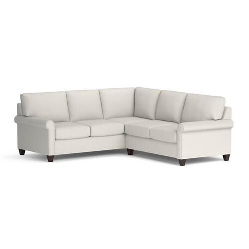 Bassett Furniture - Julian Small L-Shaped Sectional