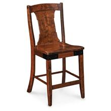 "View Product - Montauk Stationary Barstool, 30"" Seat Height / Fabric Cushion Seat"