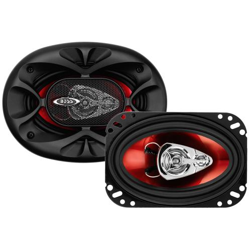 "Chaos Exxtreme 4"" x 6"" 3-Way 250W Full Range Speakers. (Sold in Pairs)"