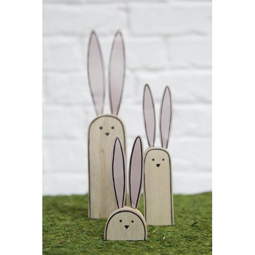 """1.5""""x 0.75""""x 7.25"""" Trixie Bunny"""