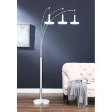 """86""""h 3-arm Arc Floor Lamp"""
