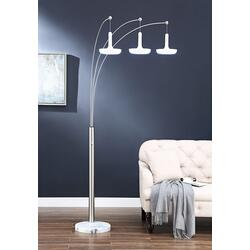 "86""h 3-arm Arc Floor Lamp"