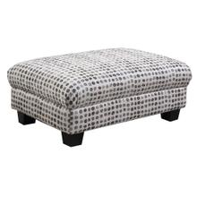 Carter Accent Cocktail Ottoman Ink Dot