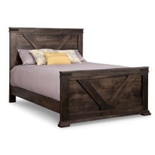 Chattanooga Queen Bed with 32'' High Footboard
