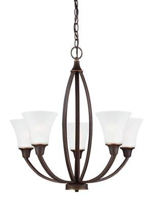Five Light Chandelier Product Image