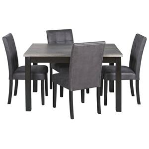 Ashley FurnitureSIGNATURE DESIGN BY ASHLEYGarvine Dining Room Table and Chairs (set of 5)
