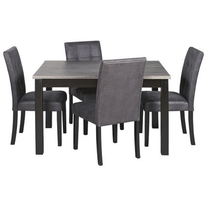 Garvine Dining Table and Chairs (set of 5)