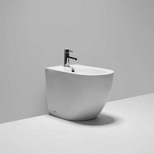 "halo floor-mounted single hole bidet 22 1/2""x14""x15 3/4"""