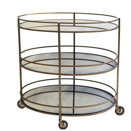 Waterford Oval Bar Cart