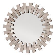 Apollo Glass Round Deco Wall Mirror