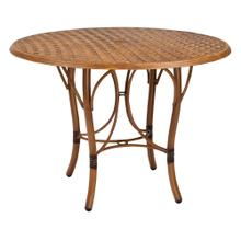 See Details - Glade Isle Tables Round Counter Height Table with Thatch Top
