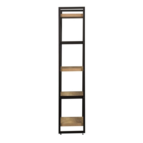 Tall Pier Unit with Faux Metal