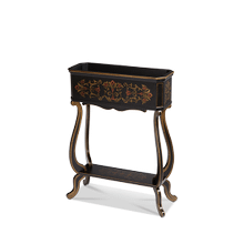 Accent Table, Brown Planter