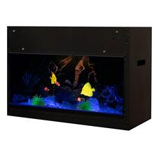 See Details - Dimplex Opti-V Built-in Aquarium, 120V/240V, 32W