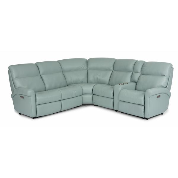 See Details - Davis Power Reclining Sectional with Power Headrests