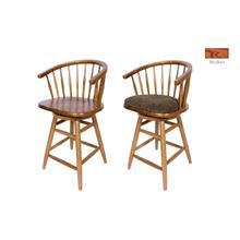 See Details - Hoop Back Barstool, w/ cushion