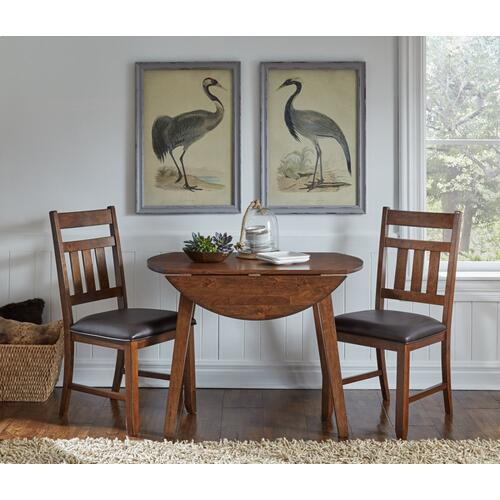 Mason Dropleaf Table and 2 Chairs