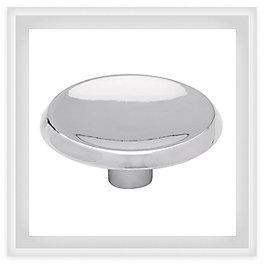 "Concave 1-7/16"" (36mm) Cabinet Knob"