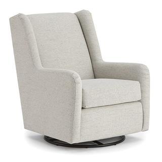 See Details - BRIANNA Swivel Glide Chair