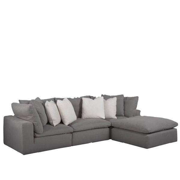 See Details - Palmer Sectional -4 piece
