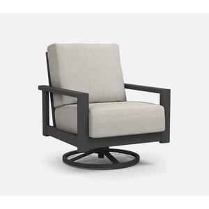 Elements Low Back Swivel Rocker Chat Chair - Cushion