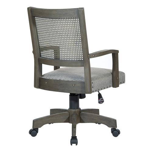 Office Star - Deluxe Cane Back Banker's Chair