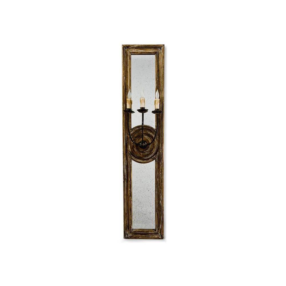See Details - Three Arm Mirror Sconce (large)