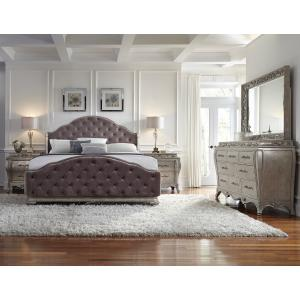 Rhianna Upholstered King Footboard and Slats