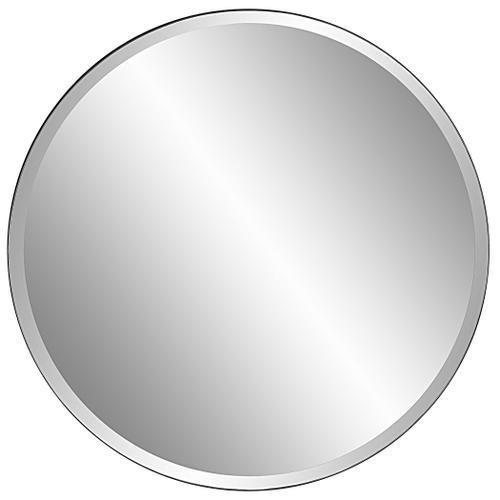 Uttermost - Cerelia Black Round Mirror