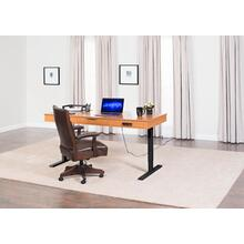 Blocher II Lift Desk, Black Base Standard