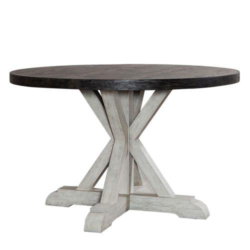 Round Single Pedestal Table Top