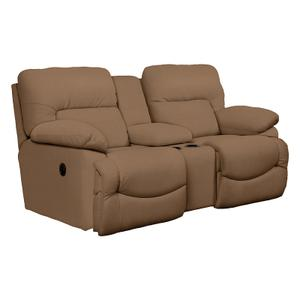 Asher La-Z-Time® Full Reclining Loveseat with Middle Console
