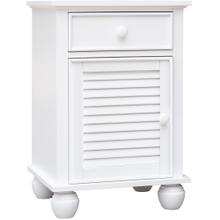 See Details - Nantucket 1 Door Nightstand