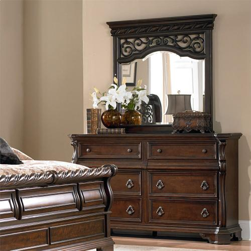 8 Drawer Double Dresser