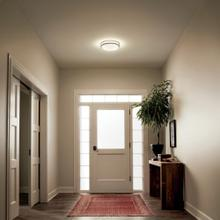 "Avon 14"" LED Flush Mount Brushed Nickel"