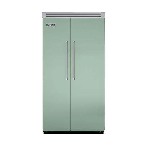 """Viking - Sage 42"""" Side-by-Side Refrigerator/Freezer - VISB (Integrated Installation)"""