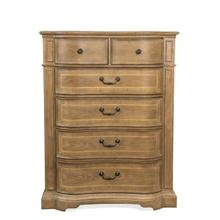 Verona Six Drawer Dresser Light Sienna finish