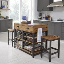 Modern Craftsman Kitchen Island Set