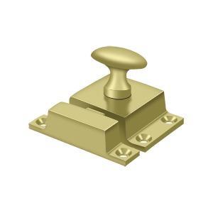 "Deltana - Cabinet Lock, 1-1/2"" x 1-3/4"" - Polished Brass"